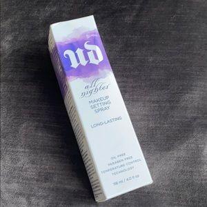NIB Urban Decay All Nighter Makeup Setting Spray
